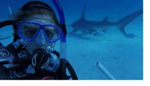 Taylor scuba diving