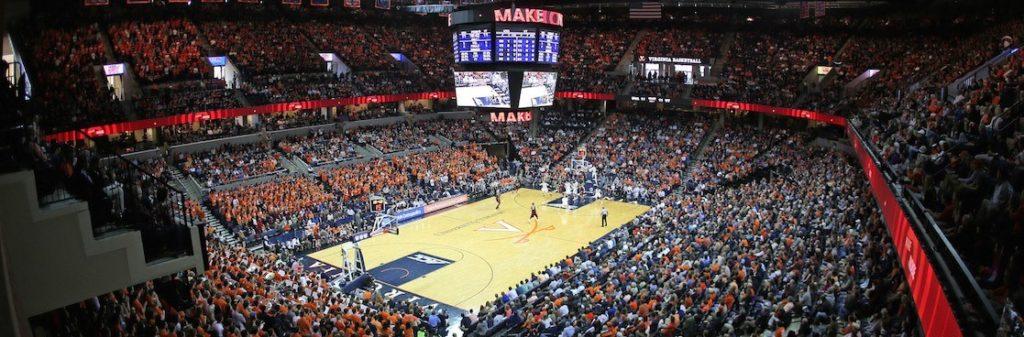 UVA basketball game at JPJ Arena