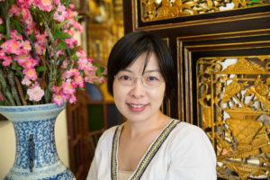 Julia Yu smiling